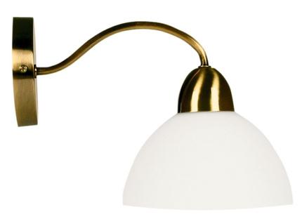 LAMPA ŚCIENNA CANDELLUX WYPRZEDAŻ 21-82551 AURA KINKIET  1X60W E27 PATYNA