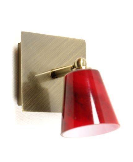LAMPA ŚCIENNA CANDELLUX WYPRZEDAŻ 91-02771 L&H MURANO  KINKIET 1X40W G9 PATYNA