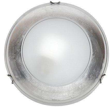 LAMPA SUFITOWA CANDELLUX WYPRZEDAŻ 13-11582 IZIS PLAFON 30  SREBRO 1X60W E27