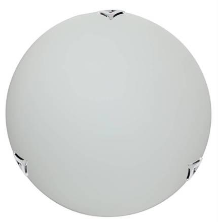 LAMPA SUFITOWA CANDELLUX WYPRZEDAŻ 14-54695 SARA PLAFON40 CHROM/SATYNA 2X60W