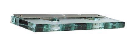 LAMPA SUFITOWA CANDELLUX WYPRZEDAŻ 92-03686 GLASSO KINKIET 2X40W G9 NIKIEL MAT
