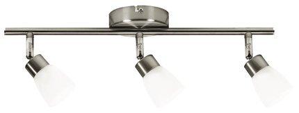 LAMPA SUFITOWA CANDELLUX WYPRZEDAŻ 93-83985 DROPS LISTWA 3*40W G9 NIKIEL MAT