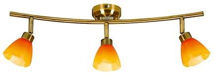 LAMPA SUFITOWA CANDELLUX WYPRZEDAŻ 93-85828 KANGO LISTWA 3X40W G9 PATYNA/RAINBOW
