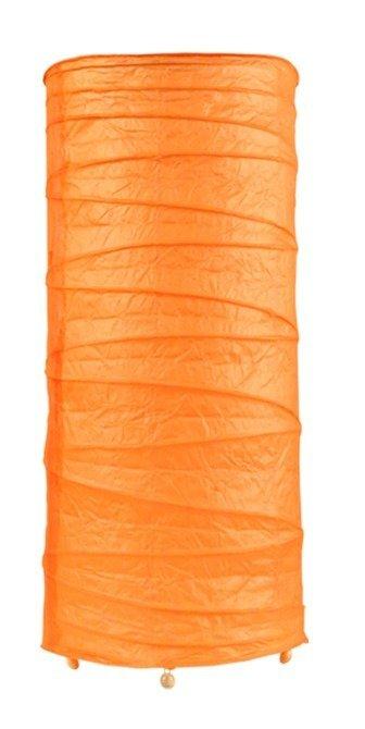 Lampka stołowa nocna papierowa pomarańczowa 40W Buton Candellux 41-88379