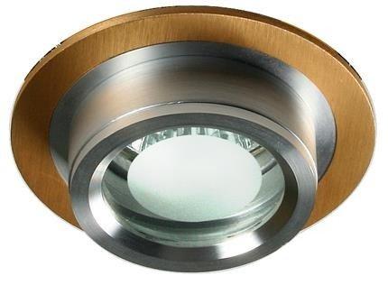 Oprawa stropowa aluminiowa okrągła złota SC-01 2210345