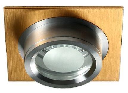 Oprawa stropowa aluminiowa złoto satyna SC-02 2210445
