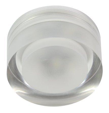 Oprawa stropowa okrągła szklana LED 3W SAK-01 Candellux 2227450