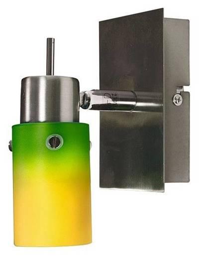 Kinkiet żółto-zielony lampa ścienna Verdi 91-85477