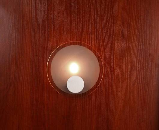 LAMPA ŚCIENNA CANDELLUX WYPRZEDAŻ 91-02917 KARAT KINKIET KOŁO 1*40W G9 NIKIEL MAT