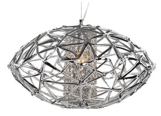 LAMPA SUFITOWA CANDELLUX WYPRZEDAŻ 31-24025 COSMO ZWIS 1X60W E27 48X27CM CHROM