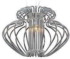 LAMPA SUFITOWA CANDELLUX WYPRZEDAŻ 31-36585 IMPERIA ZWIS 1X60W E27 450X330 MAŁA BIAŁA