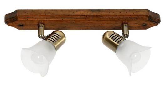 LAMPA SUFITOWA CANDELLUX WYPRZEDAŻ 92-74099 COLOSEO LISTWA 2X40W R50 E14  CIEM DR PAT METAL