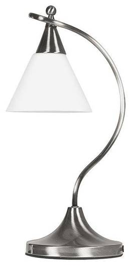 LAMPKA BIURKOWA CANDELLUX WYPRZEDAŻ 41-74946 ADRIA - LAMPKA/1 NIKIEL MAT E27 60W