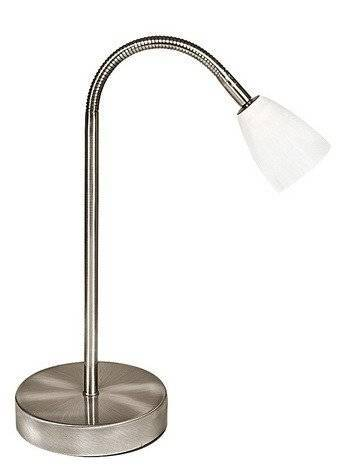 LAMPKA BIURKOWA CANDELLUX WYPRZEDAŻ 41-84371 PARMA LAMPKA 1*40W G9 NIKIEL MAT