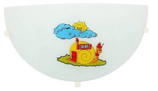 Półplafon do pokoju dziecka lampa ścienna Ślimak Candellux 11-71814